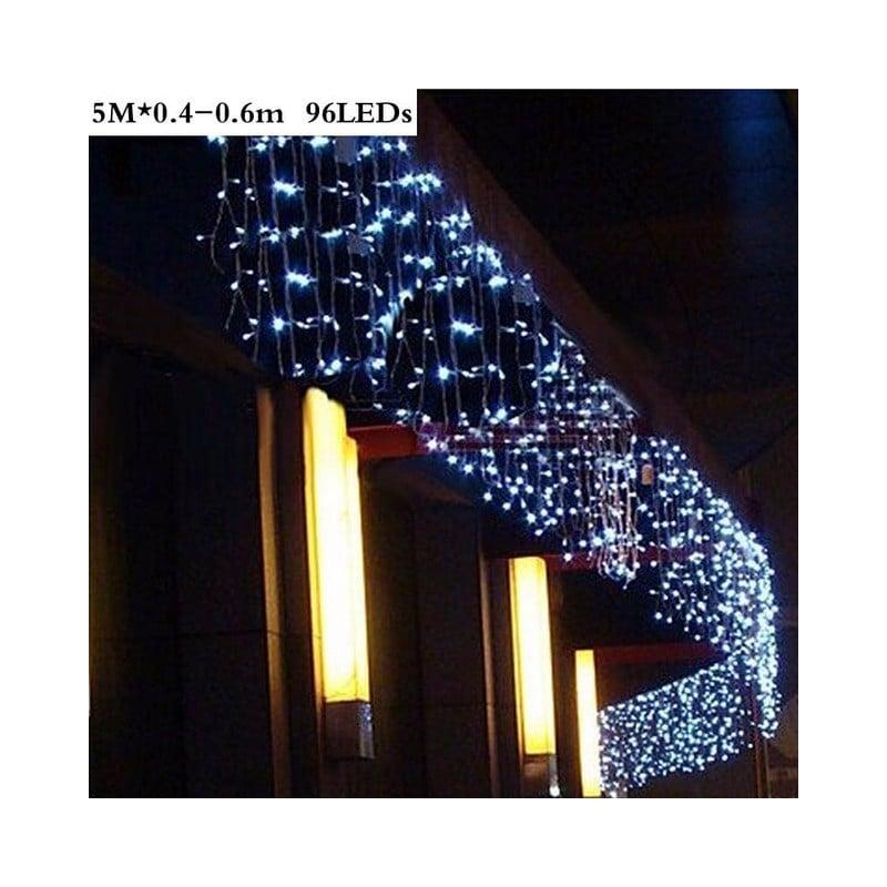 96/ 300 LED cortina Navidad boda vacaciones Cadena de luz LED de decoración lámpara de hadas bombilla guirnalda fiesta jardín...