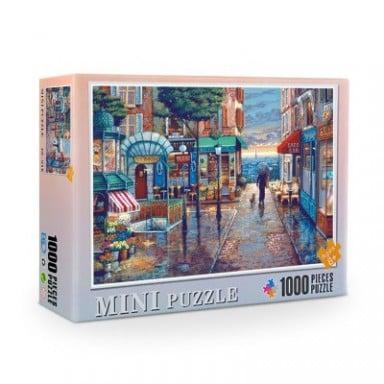 Rompecabezas de 1000 piezas de 38x26 cm, rompecabezas con imagen de ensamblaje para Adultos, juguetes rompecabezas educativos pa