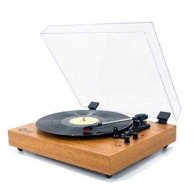 Tocadisco Bluetooth Wood Classic TT202