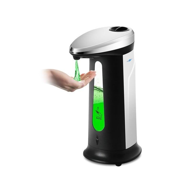 Dispensador de jabón líquido 400Ml Sensor inteligente automático de inducción Touchless ABS, dispensadores de lavado de manos...
