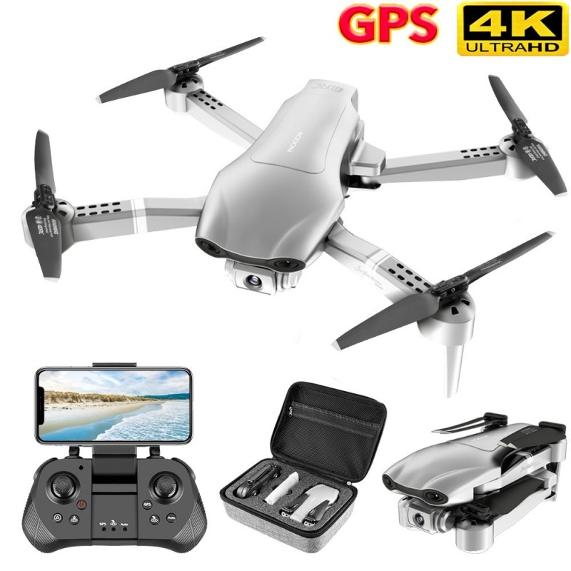 Drone GPS 4K 5G WiFi video en vivo FPV 4K/1080P HD Cámara gran angular plegable, mantenimiento de altitud, RC Drone duradero ...