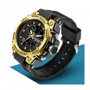 SANDA 739, relojes deportivos para hombre, de marca superior, reloj de cuarzo de lujo militar para hombre, resistente al agua S