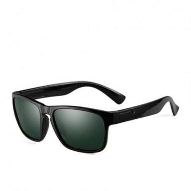 Gafas de sol polarizadas de la marca POLARKING para hombre, gafas de sol de plástico a la moda para hombre, gafas cuadradas para