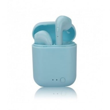Auriculares TWS Mini-2, inalámbricos por Bluetooth 5,0, caja de carga con micrófono y auriculares inalámbricos, color Macaron ma