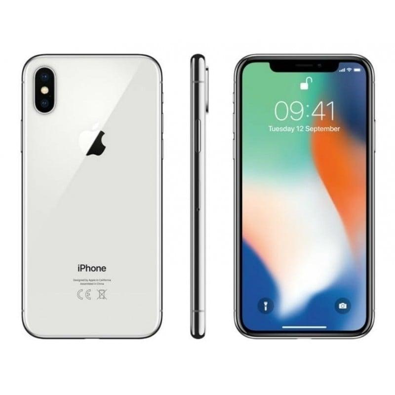 Iphone X 64 GB Silver Celulares