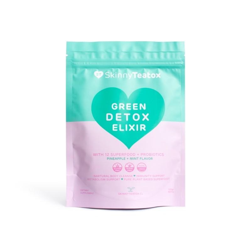 Green Detox Elixir - Skinny TeaTox Suplementos Alimenticios