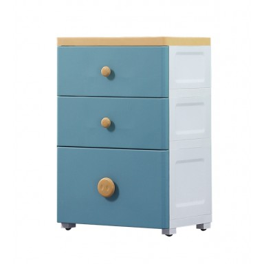 Estante con Cajonera Skyblue 3 Niveles PC413