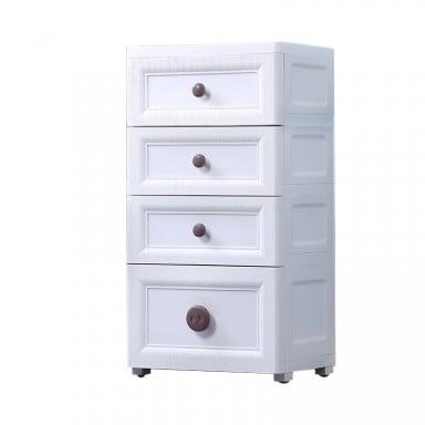 Mueble Classic Organizador 4 Niveles Blanco