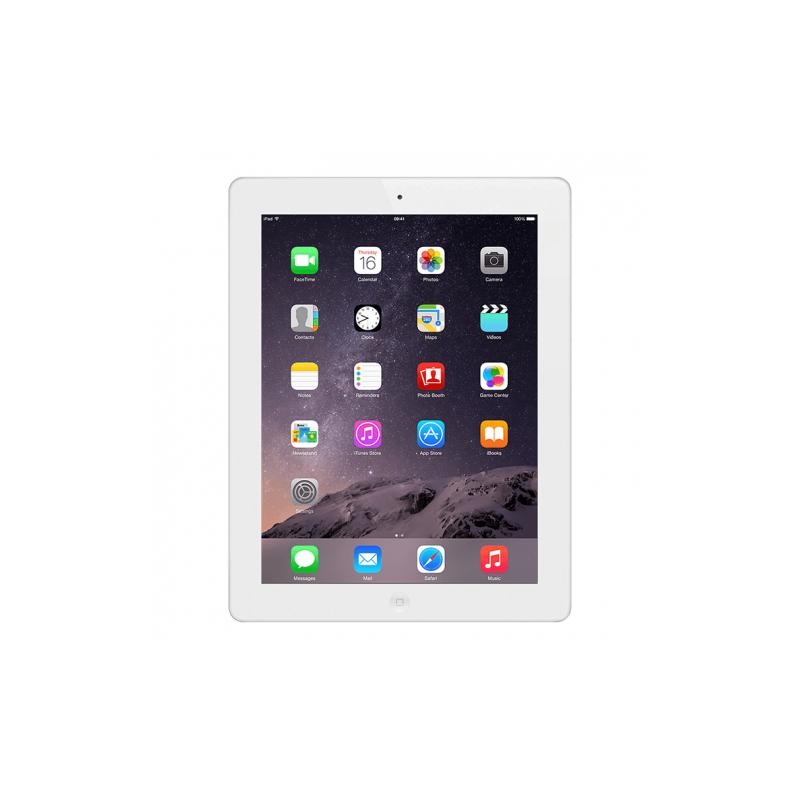 Apple iPad 4 Tablet 32GB Storage 1.40GHz 9.7 WiFi White reacondicionado Celulares
