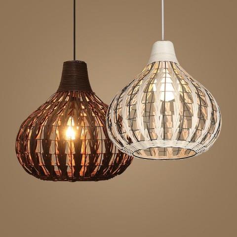 Lámpara colgante moderna G16 color a elección Decoración