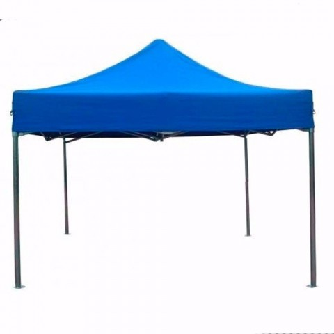 Toldo plegable 3x3 metros. Color azul Carpas