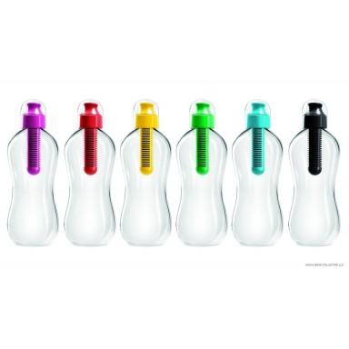 Botella con filtro de carbono activo