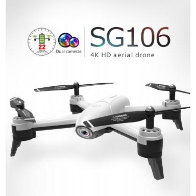 Drone Quadcoptero Sg160 Dual Camera720P White