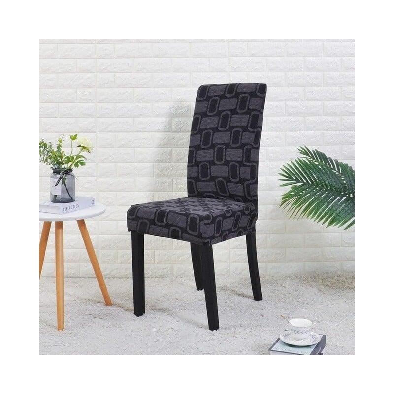 Funda Cubierta de la silla elástica cubierta de asiento de comedor para banquete boda restaurante Hotel Anti-sucio removible hou