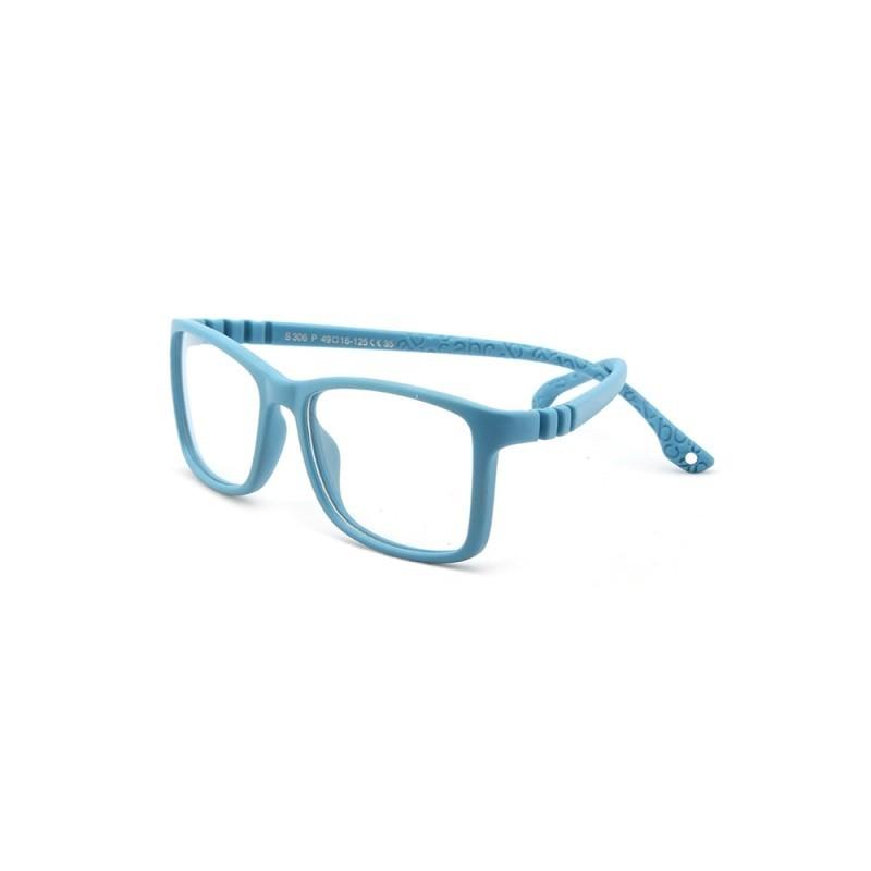 AIMISUV-marco para gafas de niños, Marco para gafas ópticas cuadradas, Flexible, de silicona, a la moda, con UV400, 2020