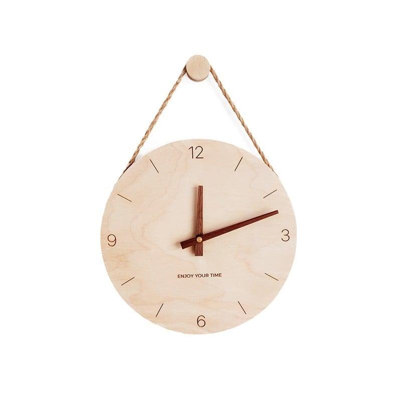 Reloj de pared nórdico de madera 3D, cronógrafo Digital de diseño moderno, para decoración del hogar y pared de salón, regalos d