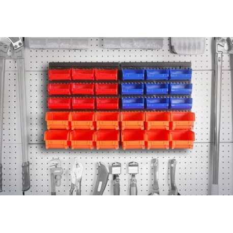 Organizador de herramientas de 30 piezas para pared