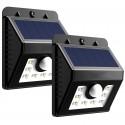 Foco solar 8 LED Terraza y Jardin