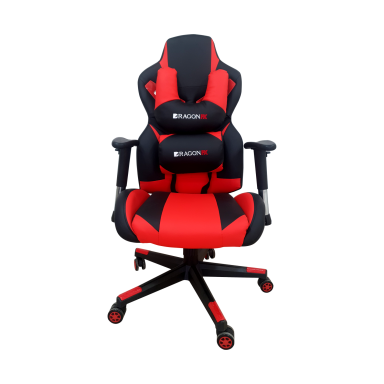 Silla Gamer Pro Gaming Chair DragonFX Red