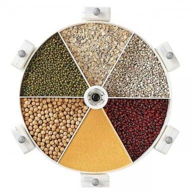 Organizador Rotatorio de Cereales y granos