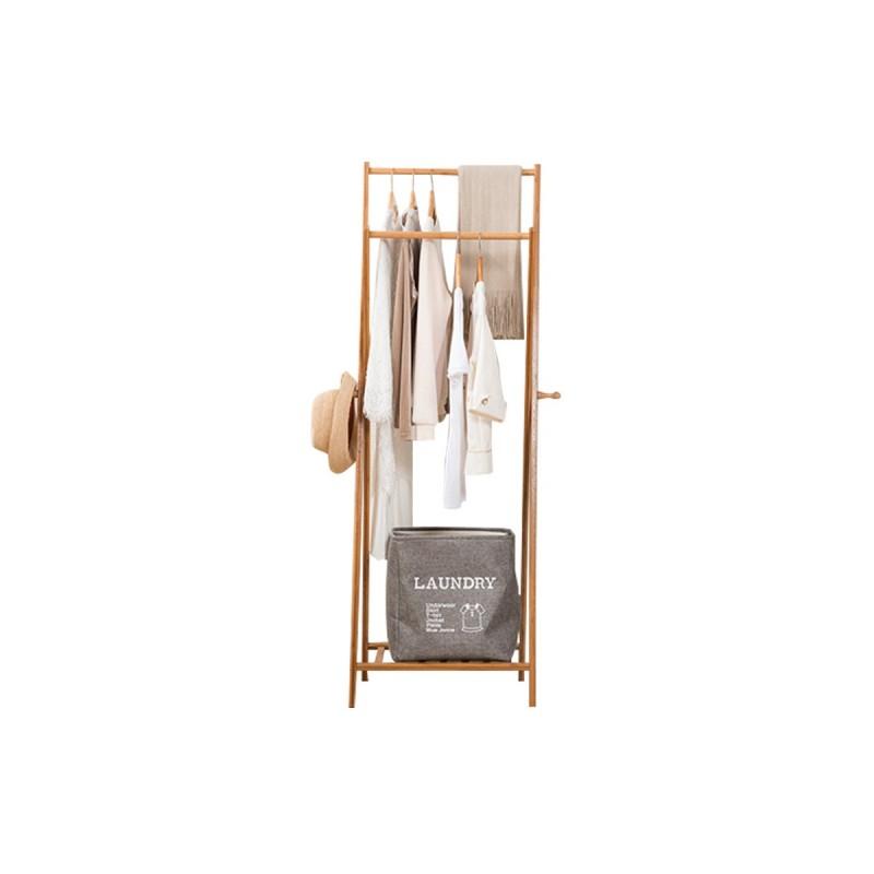 mas fiable diseño novedoso incomparable Perchero colgador de bambu