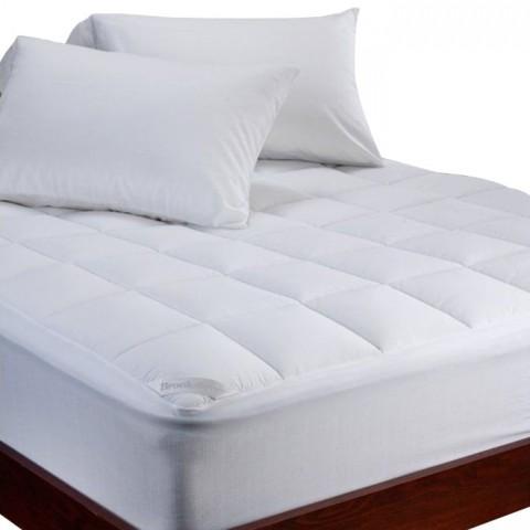 Cubrecolchón de lujo Gusset marca Biancobelo Cubre Colchón