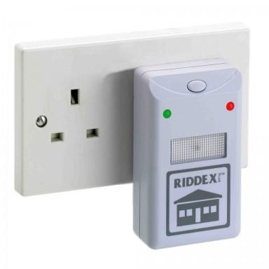 Pack 3 ahuyentadores de ratones Riddex