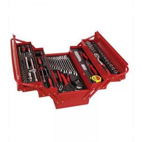 Caja de herramientas metalica 86 piezas Herramientas