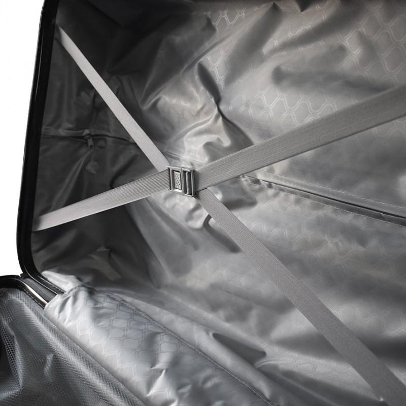 524de2208 ... Set 3 maletas rigidas con giro 360° Plateado Maletas ...