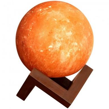 Lámpara Luna de Sal Himalaya