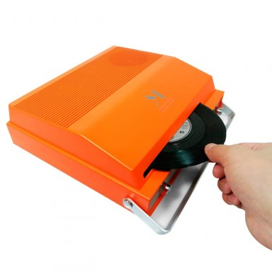 Reproductor MPK giratorio portátil 2 velocidades Bluetooth