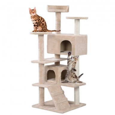 Rascador para Gatos tres niveles.