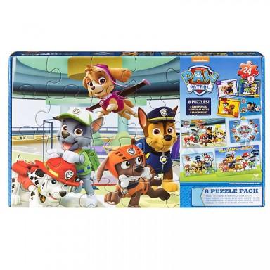 Paw Patrol Set 8 Puzzles
