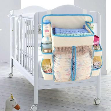 Organizador para pañales e insumos de bebé