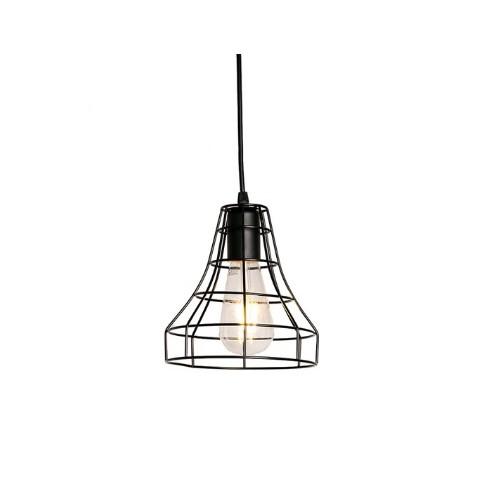Lampara Triangular Metalica Iluminación