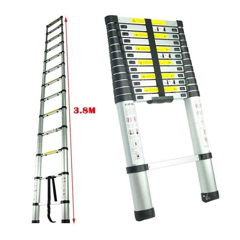 Escalera retractil telescopica for Escaleras retractiles