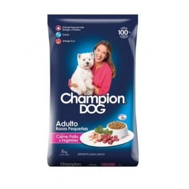 Champion Dog Raza pequeña 8Kgr