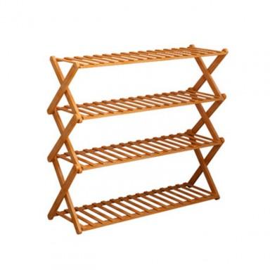 Rack bambú 4 niveles