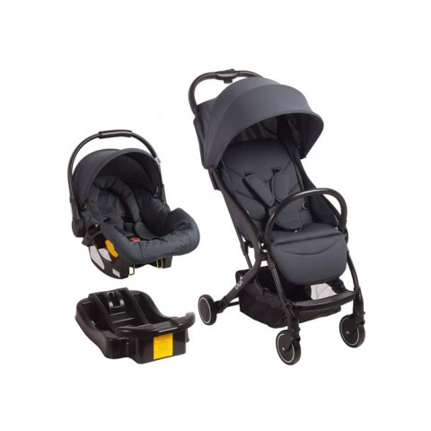 Coche Travel System Viva Dark Grey Bebesit® Coches y sillas