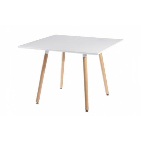 Mesa Eames blanca cuadrada Mesas