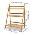 Pergola reclinable de Bamboo multiuso en tamaño a eleccion