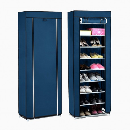 Closet de Tela Móvil para Zapatos Hogar