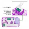 Kit de rodillo dermatológico 6 en 1 con microaguja, rodillo Facial con microaguja para el cuidado de la piel y el tratamiento...