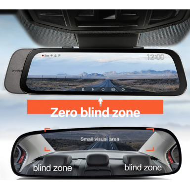 2020 nuevo 9,35 pulgadas Pantalla Completa 70mai cámara de salpicadero retrovisor ancho 1080P Auto Cam 130FOV 70MAI espejo coche