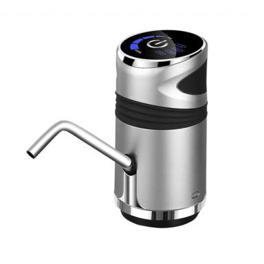 Bomba de botella de agua con carga USB, dispensador de agua eléctrico portátil y automático, interruptor de botella de agua para