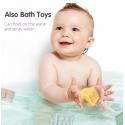 Tumama 12 unids/set juguete de agarre para bebé, bloques de construcción 3D, mano táctil, pelotas suaves, masaje para bebé, m...