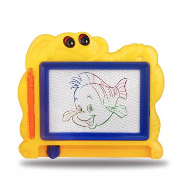 Juego de pintura de plástico para niños, Kits de creatividad para dibujar plantillas magnéticas de luz, juguetes de dibujo para