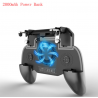 Pubg controlador teléfono Gamepad Pubg móvil gatillo L1R1 joystick disparador juego soporte ventilador con 2000/4000mAh Banco de