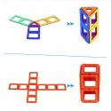 Kit 54 Bloques de construccion magneticos Juguetes