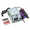 1 Set 2 vuelta de clavo eléctrico máquina de perforación manicura 20000RPM máquina fuerte gel para pedicura cutícula eliminar mo
